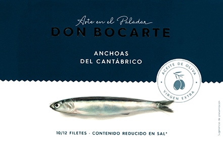Cantabric Anchovies 120g.