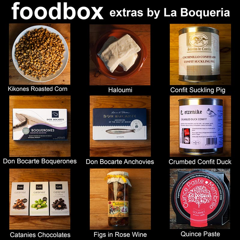 Buy foodbox extras