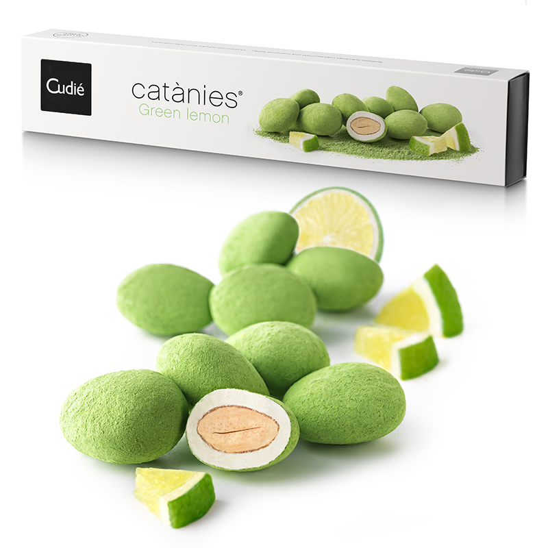 Sweets - Catànies Green Lemon Chocolate 250g